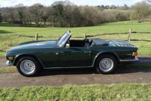 Very early and original Triumph TR6 (CP25...),low ownership,lovely condition.