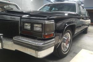 1981 Cadillac Formal Limousine 4 Door Black in VIC