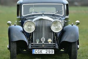 1935 3 1/2 Litre Derby Bentley Park Ward sports saloon
