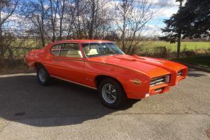 Pontiac: GTO DOCUMENTED PHS PROTECT-O-PLATE JUDGE TRIM