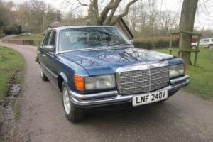 1980 MERCEDES-BENZ 450SEL AUTO (blue)