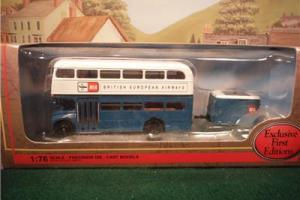 EFE 36201 RMA Routemaster & Trailer BEA Airways Boxed (myn25)