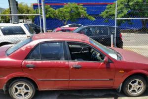 Mazda 323 Protege 2001 4D Sedan Manual 1 6L Multi Point F INJ 5 Seats in QLD Photo