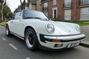 1984 Porsche 911 Carrera Cabriolet (3.2 Litre) Photo