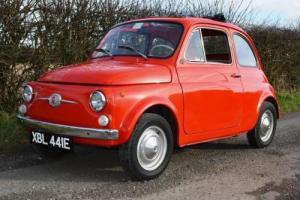 1967 Fiat Nuova 500 F Berlina