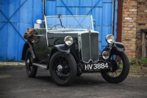 1934 Morris Minor Two-Seater Tourer