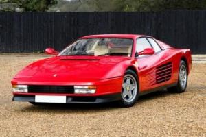 1987 Ferrari Testarossa Photo