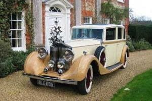 1934 Rolls-Royce Phantom II Limousine by Barker Photo