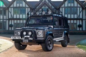 2001 Land Rover Defender 110 Tomb Raider Pre-production Model