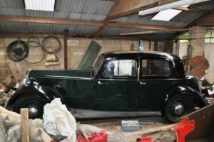 1937 Rover 14 Saloon P1