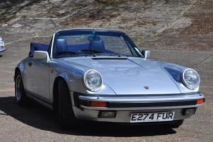 1987 Porsche 911 Carrera Cabriolet Photo
