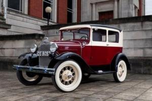 1930 Ford Model A Tudor (two-door) Sedan