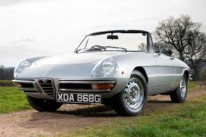 1968 Alfa Romeo 1300 Junior round tail spider