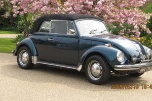 1971 Volkswagen Beetle Cabriolet Photo