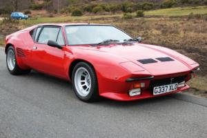DeTomaso Pantera GT5-S 1989 Rare One Of 17 Right Hand Drive Incredible Photo
