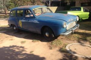 Renault Domain VAN Service Rally Vintage Collectable Barn Find Rare RAT ROD in VIC Photo
