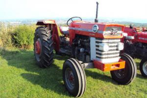 MASSEY FERGUSON 165 MULTIPOWER TRACTOR, APPROX 1966. GREAT CONDITION