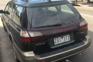 Subaru Outback 1999 4D Wagon Automatic 2 5L Multi Point F INJ in NSW Photo