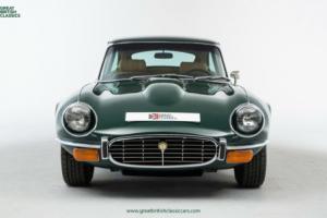 Jaguar E-Type V12 // British Racing Green // 1972