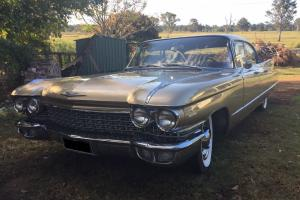 1960 Cadillac 4 Door Sedan Seats 6 BIG Yank Tank Dream TO Drive in QLD