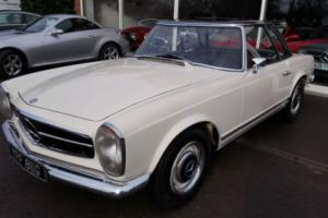 1967 Mercedes-Benz 250sl pagoda, another rare car available in market