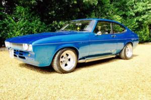 1979 mk 2 Ford Capri 5.7 6.2 v8 Chevy Edelbrock Blue One Off American