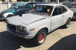 Mazda RX3 Coupe 12A 4 SP Real RX3 NOT A 808 Mock UP Rust Free Project