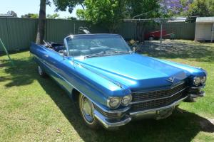 Cool Classic 1963 Cadillac Convertible Same Year Model AS Scarface Movie CAR in NSW