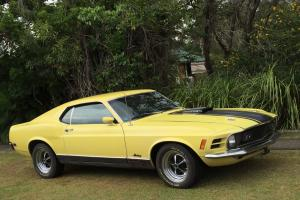 """1970 Ford Mustang Mach 1 428 """"R"""" Code Cobra JET in QLD Photo"""