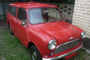 1965 Mini Panel VAN Rebuilt From THE Ground UP Everything HAS Been Replaced in NSW