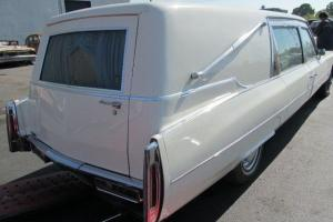 "Cadillac Hearse 1976 Last OF Long Door Models ITS 21' 6"" Long AND Takes THE Road in VIC Photo"