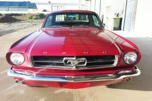 1965 Mustang Coupe LHD in SA