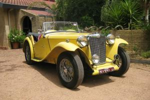 MG TC 1949 in VIC
