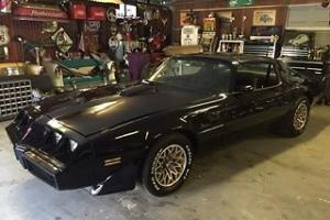 Pontiac Trans AM Smoky AND THE Bandit 1979 Factory Black Paint BIG Block Shaker