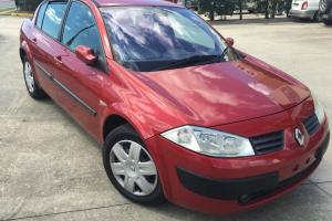 2004 Renault Megane Expression 4D Sedan Automatic NO Reserve