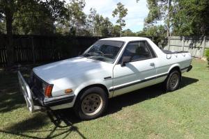 Subaru Brumby UTE 4x4 5 Speed Manual 1 8L Carb 1985 in QLD