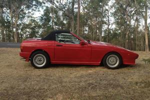 FOR Sale RED TVR 350i First Registered January 1989 in QLD Photo