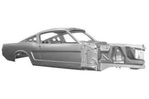 Mustang 1965 GT NEW Fastback Bodyshell