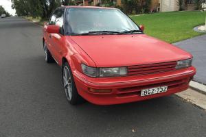 Toyota Corolla Seca SX Twin CAM 1992 AE93 4AGE JDM Rare Collectable in NSW