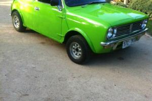 Leyland Mini 1978 2D Sedan Manual 998 CC Carb Seats in SA Photo