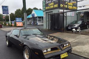 Pontiac Trans AM 78 Anniversary Build Trans AM V8 4 Speed T TOP