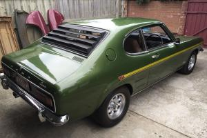 Ford Capri GT V6 3000 '71 MK1 Genuine Matching Numbers VGC in VIC Photo