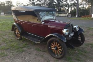 Chev Tourer 1927 in QLD