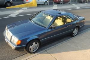 Mercedes Benz 300CE 1989 TWO Door Midnight Blue Sports Coupe AMG Wheels in VIC
