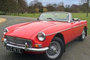1967 MGB Roadster - Tartan Red with Black Leather - FULLY RESTORED CAR