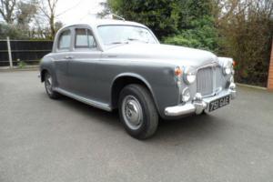 Rover 100 P4 2.6 4dr 1959 REG NO: 751 GAE
