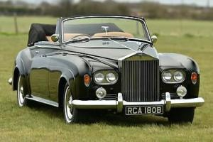 1964 Rolls Royce Silver Cloud 3 Convertible