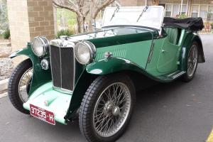 1934 PA MG 4 Seater Tourer in VIC