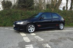 1999 T PEUGEOT 306 RALLYE BLACK 1 OWNER FROM NEW TOTALLY ORIGINAL & UNMODIFIED