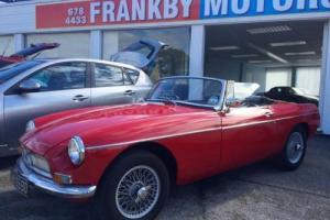 MGB Roadster 1966 tax exempt